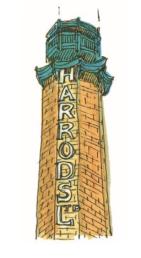 M WOOD LONDON HARRODS BRICK