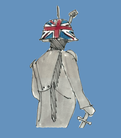 M WOOD LONDON LORD NELSON TRICORNER