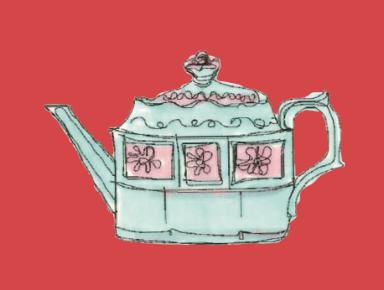 M WOOD LONDON TEA POT