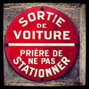 Paris Sign 2012 @mwoodpen
