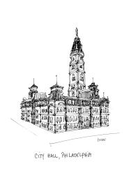 Philadelphia City Hall @mwoodpen