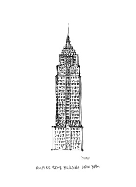 Empire State Building @mwoodpen