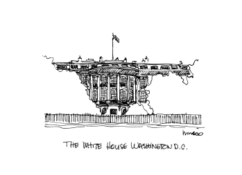 The White House @mwoodpen