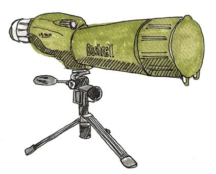 M WOOD BIRD BUSHNELL VIEWER