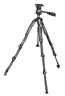 M WOOD BIRD TRIPOD