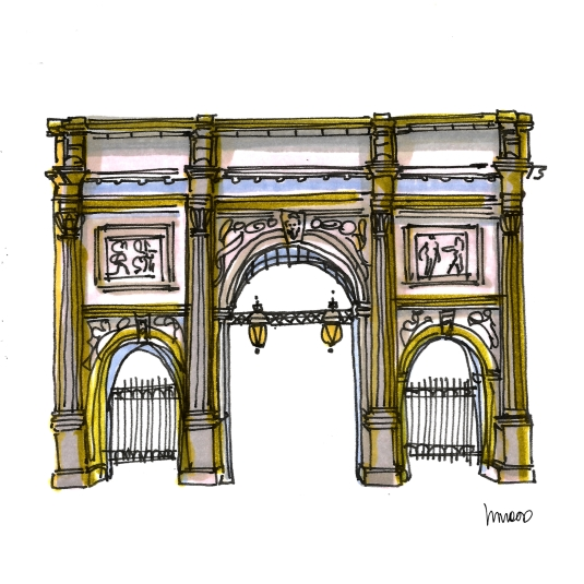 M WOOD LONDON MARBLE ARCH