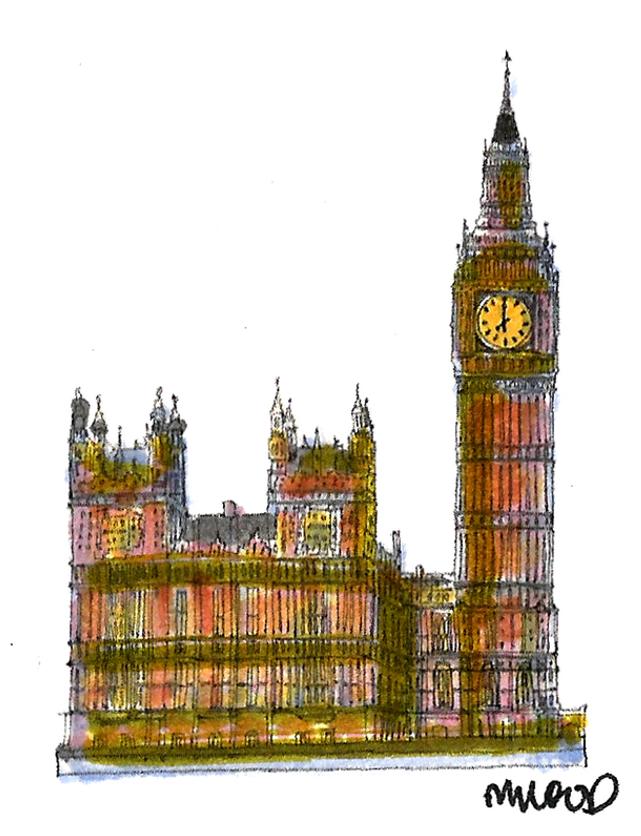 M WOOD LONDON PARLIAMENT