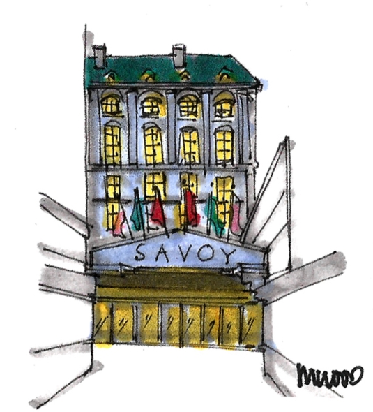 M WOOD LONDON SAVOY