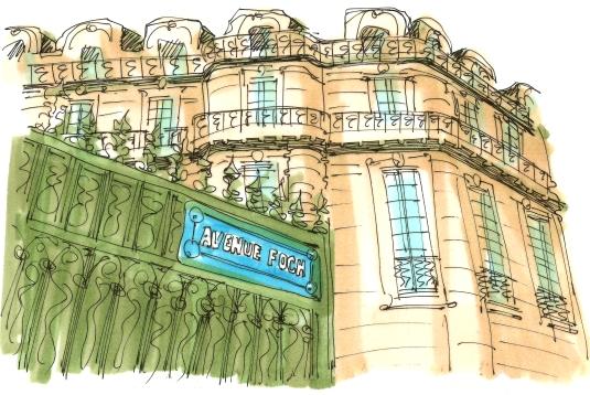 AVENUE FOCH EN PARIS