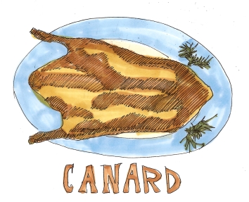 citysketch paris culture le cordon bleu canard