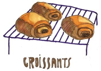 Croissants @mwoodpen