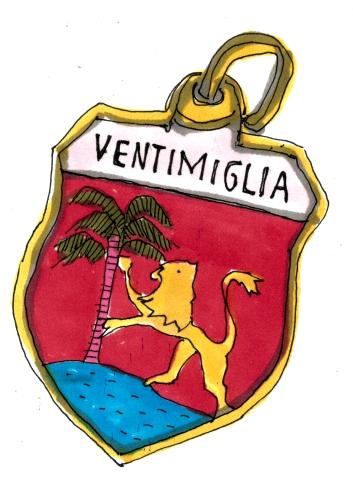 FRANCE VENTIMIGLIA PIN