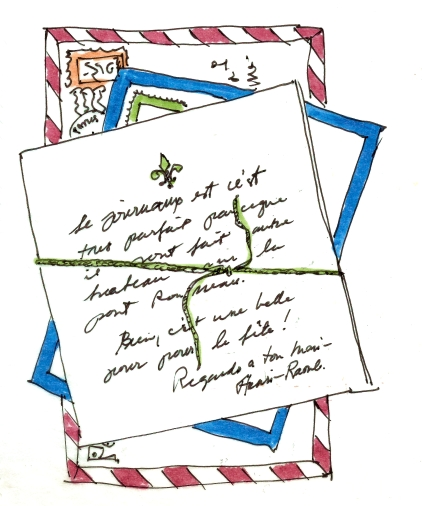 LETTERS ABROAD