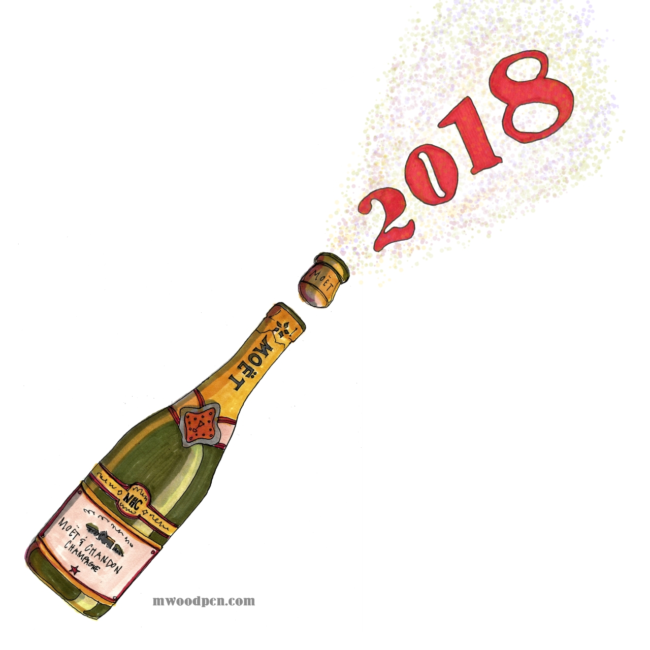 M WOOD 2018 HAPPY NEW YEAR.jpg