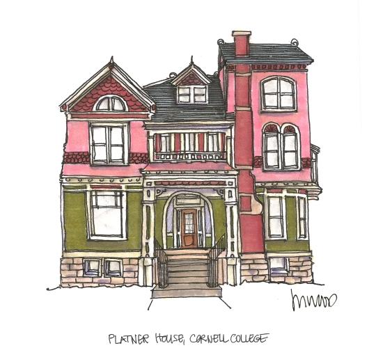 M WOOD CORNELL PLATNER HOUSE