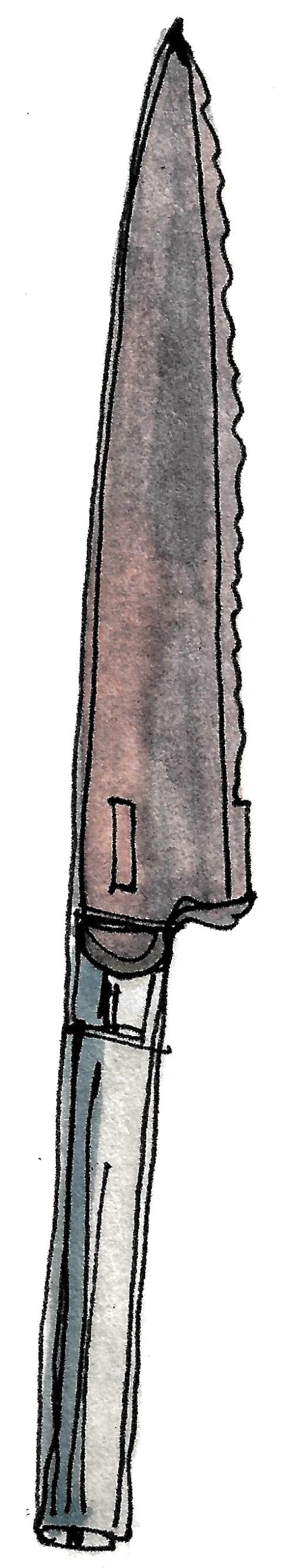 M WOOD KITCHEN KNIFE