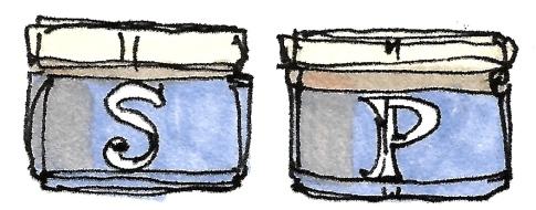 M WOOD KITCHEN SALT AND PEPPER