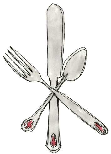 M WOOD LONDON FLATWARE