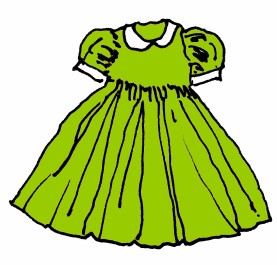 M WOOD PARTY DRESS GREEN