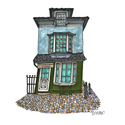 Windsor Crooked House by M. Wood