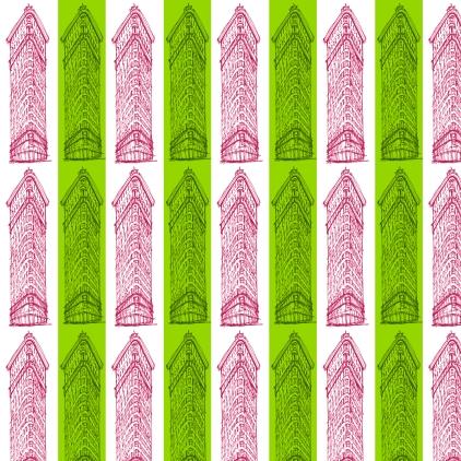 pattern M WOOD FLATIRON PREPPY STRIPE