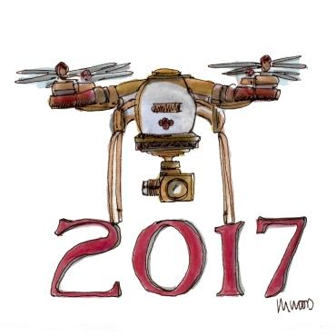 2017 DRONE M WOOD