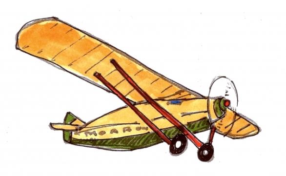 Charles Lindbergh @mwoodpen
