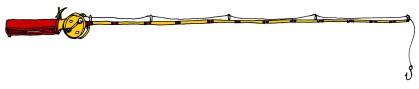 Fishing Pole @mwoodpen