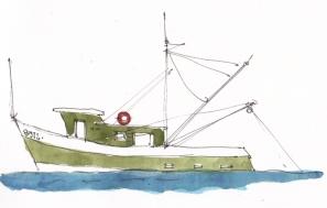 Lobster Trawler @mwoodpen