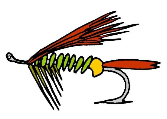 Fishing Fly @mwoodpen
