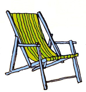 Beach Chair @mwoodpen