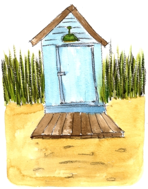 Beach Hut @mwoodpen