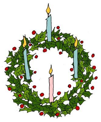 M WOOD CHRISTMAS WREATH