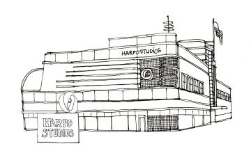 Harpo Studios @mwoodpen
