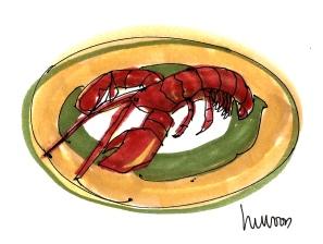 Lobster Platter @mwoodpen