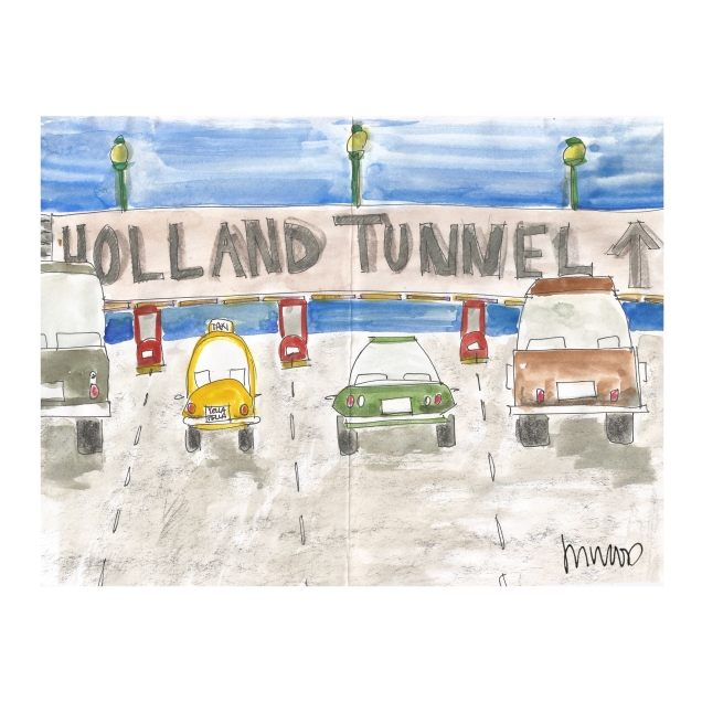 Holland Tunnel Toll @mwoodpen