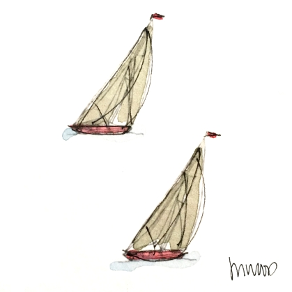 Twin Sails @mwoodpen