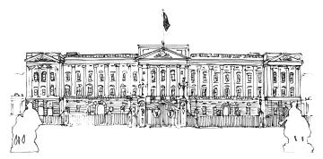 Buckingham Palace @mwoodpen