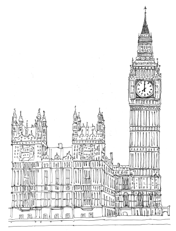 Parliament + Big Ben @mwoodpen