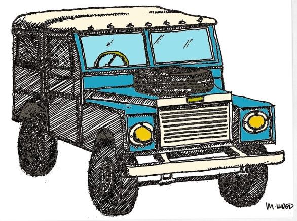 Safari Car @mwoodpen