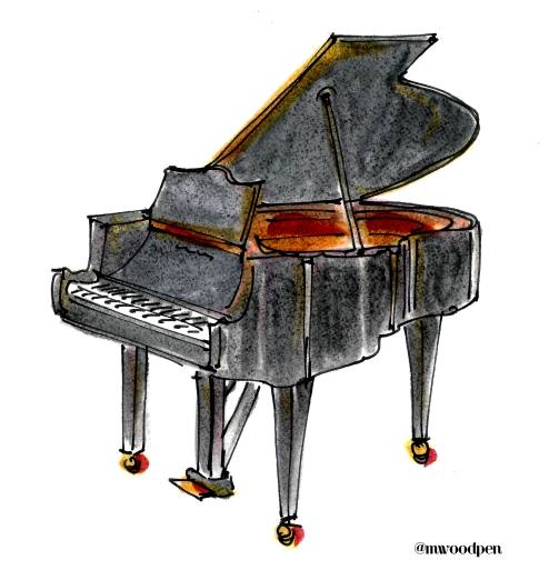 Grand Piano @mwoodpen