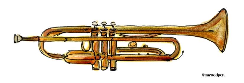 Trombone @mwoodpen