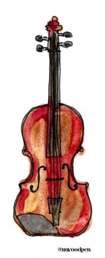 Violin @mwoodpen
