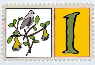 Partridge In A Pair Tree Stamp @mwoodpen