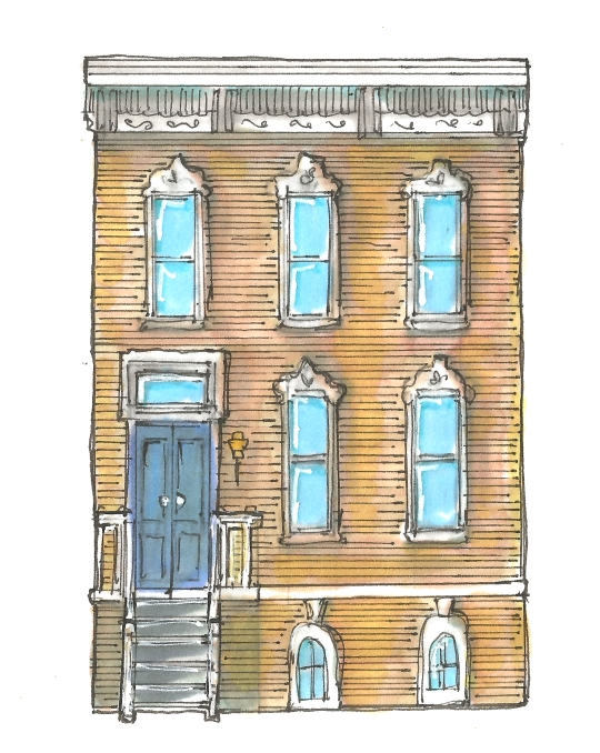 FREMONT ROW HOUSE 2 COLOR